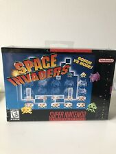 SPACE INVADERS snes NTSC- BRAND NEW SEALED