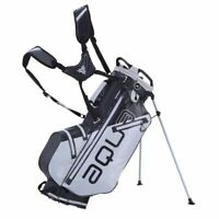Big Max Aqua Eight Waterproof Golf Stand Bag Grey/Black - NEW! 2020