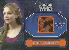 "Topps Doctor Who 2015 - ""Sally Sparrow's Coat"" Costume Relic Card"