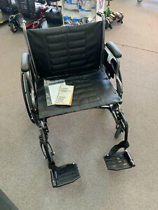 "24"" Invacare Heavy Duty Wheelchair"
