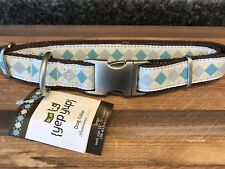 New Large DOG Collar Premium Yep Yup Boutique cotton webbing & metal Prominence