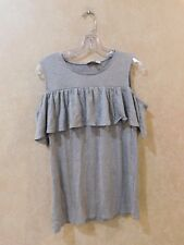 Envie De Fraise Mariann Maternity Top Grey US 8/10  NWT ____________ R11D4