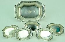 Vintage R Wallace & Sons Sterling Silver Nut Dishes & Master Bowl NR