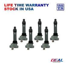 DEAL Set of 6 New Ignition Coils on Plug Packs Fit GM Suzuki Multiple Models V6