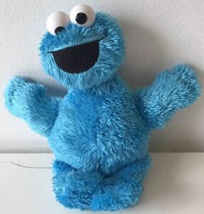 "Hasbro (2014) Cookie Monster 9"" SESAME STREET Blue Soft Toy Plush No: (50261)"