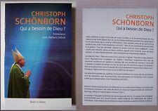 #) Christoph Schönborn, qui a besoin de Dieu ? entretiens avec Barbara Stöckl