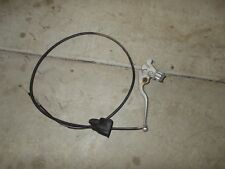 1986 Honda 250 ES Big Red Rear Hand Brake Lever / Reverse Cable Perch
