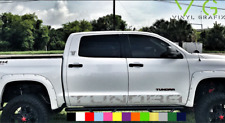 Toyota Tundra Vinyl Decal Sticker Graphics TRD Sport Side Door x2 ANY COLOR- 013