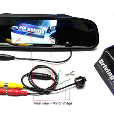 Mirror Image Conversion Line CCD Night Vision Auto Rear Front Side View Camera