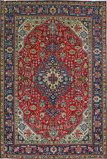 """6' 8"""" x 9' 10""""  Tabriz, Wool,  Authentic Hand Knotted Persian Rug"""