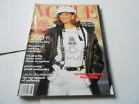AUG 1992 VOGUE vintage womens fashion magazine (DONNA KARAN)