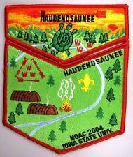 OA Lodge 19 Haudenosaunee S10 + X4 FDL Red WWW [A10295]