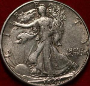 1947-D Denver Mint Silver Walking Liberty Half