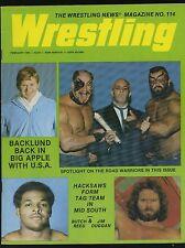 Wrestling News Magazine #114 - February 1985 - Backlund / Road Warriors