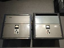 RARE PAIR MCINTOSH MI200 WATT MONO BLOCK TUBE AMPLIFIERS SERIAL 1H038/1180