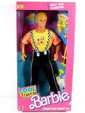 * Nib Barbie Doll 1988 Cool Times Ken 3215