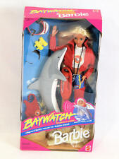 Mattel Barbie Doll 1994 Baywatch Lifeguard Barbie NEW