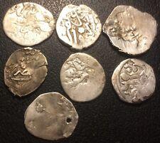 """Turquie - Empire Ottoman - lot de x7 monnaies """"akce"""" argent du XVIème siècle !"""