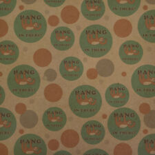 Hang in There Sloth Funny Humor Premium Kraft Gift Wrap Wrapping Paper Roll