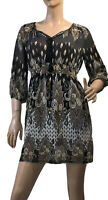 CAROLINE MORGAN SIZE 12 PAISLEY PRINT DRESS