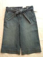 Womens Sonoma Life+Style Capri Pants Jeans Size 8 NEW
