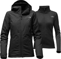 NWT The North Face High and Dry Triclimate Hooded Jacket Black Size S
