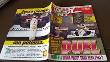 AUTOSPRINT 1991 N 33 - 34 F 1 PACE TRA SENNA E PROST  - GP UNGHERIA SENNA 1 8/17