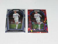 2020-21 Panini Prizm Soccer Premier League Patrick Bamford RC Base & Red Ice