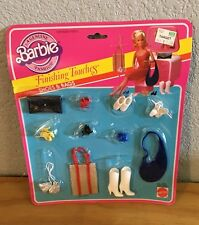 Barbie Fashion Add-Ons Finishing Touches Pack Straw Tote Boots Vtg NOC #2458
