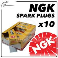10x NGK SPARK PLUGS Part Number BKR6E Stock No. 6962 New Genuine NGK SPARKPLUGS