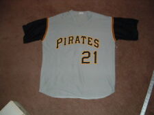 ROBERTO CLEMENTE #21 PITTSBURGH PIRATES REPLICA BASEBALL JERSEY X-LARGE SGA