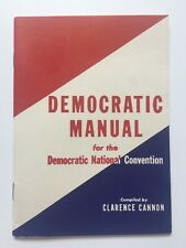 1948 Democratic National Convention President Harry S. Truman Democratic Manual