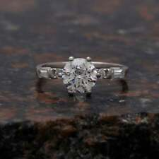 Ring ,Wedding Ring ,Gift For Her 1.95 Ct Fine Round Cut Solitaire Proposal