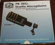 HEIL SOUND PR-781G MICROFONO DA STUDIO DINAMICO PER RTX HF USATO COME NUOVO