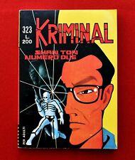 """KRIMINAL # 323 PRIMA EDIZIONE Del 1971  """"DA EDICOLA"""""""