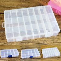 10/15/24 compartimentos caja surtido Caja CLASIFICAR TRANSPARENTE perlas