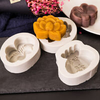Silicone Cartoon Moon Cake Mold Mooncake Mould Candy Cookie Baking DIY Tools