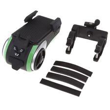 Waterproof Motorcycle Phone Holder Bluetooth Audio Player Speaker All in 1