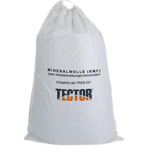 KMF Säcke Sack Glaswolle Faserstaub Mineralwolle BIG BAG Isolierwolle TRGS 521