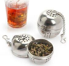 Tea ball Loose Tea Leaf Strainer Herbal Spice Infuser Filter Diffuser green mesh
