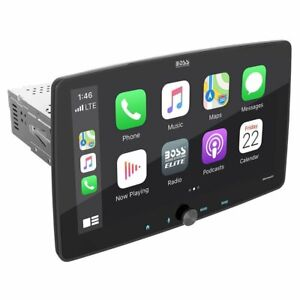 """Boss BE10ACP 10.1"""" Single-DIN In-Dash Apple CarPlay & Android Auto Receiver"""