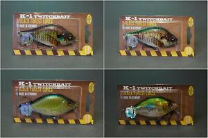 Hybrida K-1 Crankbait Wobbler - 9cm - 25gr - verschiedene Farben - neu!