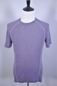 Lululemon Tech SS Shirt Purple Heather Men's Small S