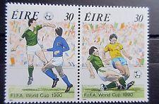 Ireland 1990 World Cup Football Set. MNH.