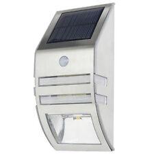 1Pack 2-LED Solar Power Motion Sensor Light Wall Garden Lamp outdoor wateproof