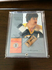 BOBBY ORR 03/04 ITG USED SIGNATURE SERIES GAME USED JERSEY & STICK