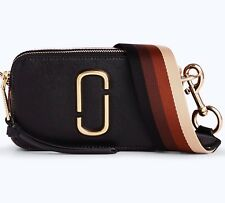 Marc Jacobs Snapshot Small Camera Bag Black Multi Crossbody, dust bag ,