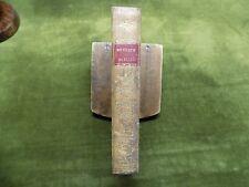 DU CULTE PUBLIC 1802 + De la Religion aux Français 1801  plein veau CONCORDAT