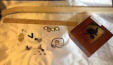 """Bare Bones"" 3-String Cigar Box Guitar Kit- Bydand Instruments"