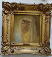 Han van Meegeren - Portrait of a lady - Oil painting on panel